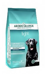 Сухой корм для собак склонных к полноте Arden Grange Adult Dog Light курица, рис