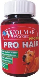 Витаминный комплекс для собак Wolmar ProHair для кожи и шерсти
