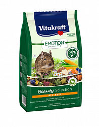 Основной корм для дегу Vitakraft Emotion® Beauty Selection All Ages, 0,6 кг