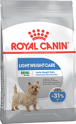 Сухой корм для собак склонных к ожирению Royal Canin Mini Light Weight Care